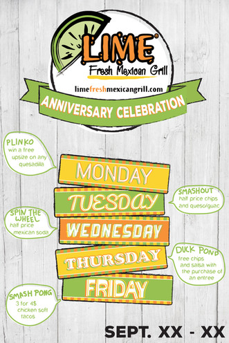 Lime Anniversary Celebration