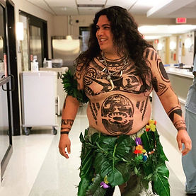 Brian Cruz as Maui The Demi God Himself.