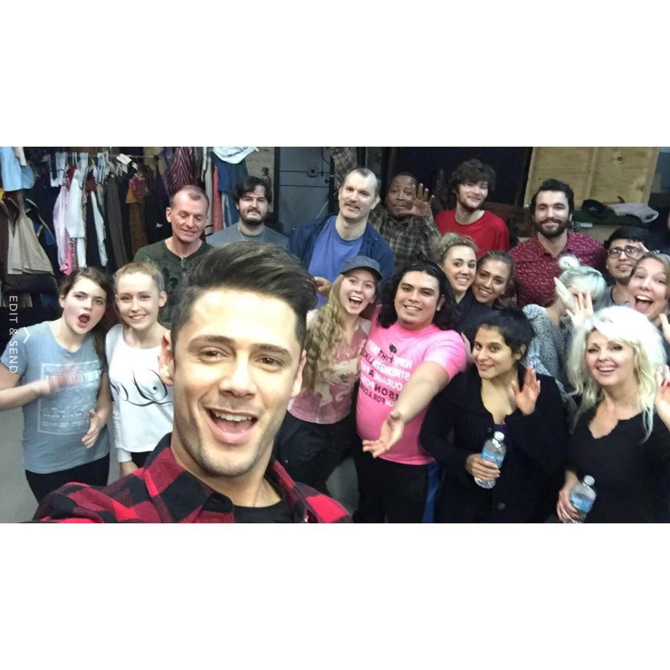 First Joan Cast Selfie
