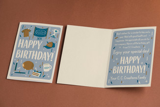 Employee Birthday Card