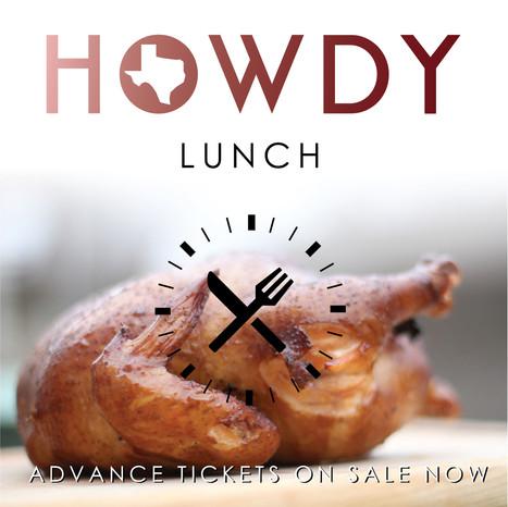 Howdy Lunch Branding