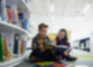 Teenagers in Library