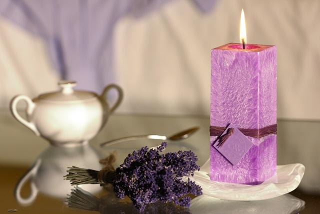 Svíčky_Gr_levandule