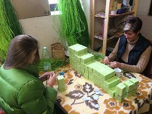 svíčky výroba