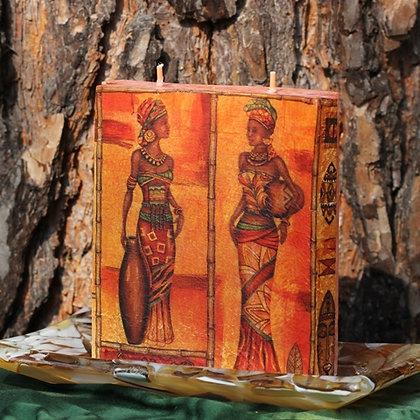 Afrika vlna dva knoty