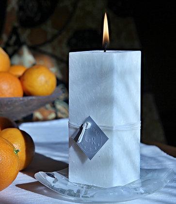 svíčka s vůní pomerančových květů