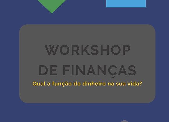 Workshop de Finanças - 5 Coisas