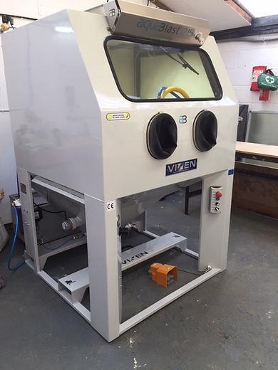 FWD's Vixen 1215 Vapour Blast cabinet