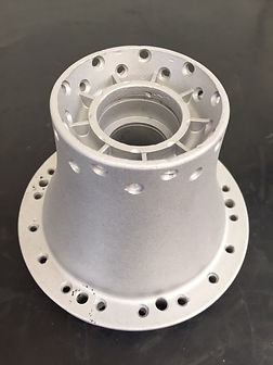 Conical hubs for a pre 65 trials project
