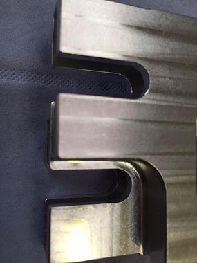 Machine marked component