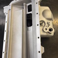 BMW M3 E36 engine parts vapour blasted