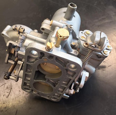 Twin Solex carb Vapour blast and Ultrasonic cleaned and rebuilt ready to fit