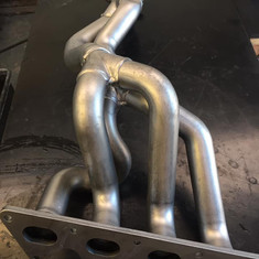Vapour Blasted Renault Clio Sport Stainless Steel exhaust system