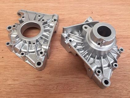 Single Cylinder Crank Cases Vapour Blasted