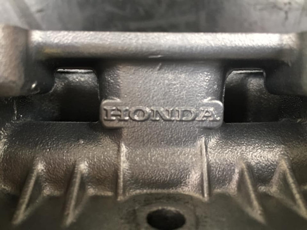 Honda CB500/4 top end vapour blasted
