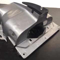 Air cooled Volkswagon cylinder shroud Camper/Beetle Vapour Blast Cleaned
