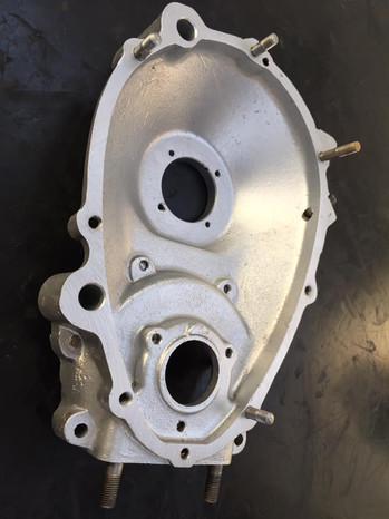 1950s Vapour blasted Villiers Junior engine casing
