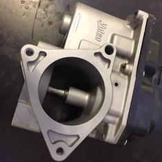 Audi TT EGR valve like new after vapour blasting
