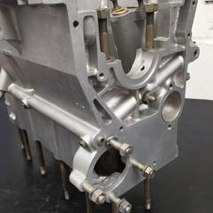 Vapour Blast Cleaned Reliant Regal engine block