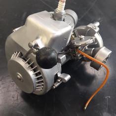 Vintage horticultural 2 stroke engine after Vapour Blasting