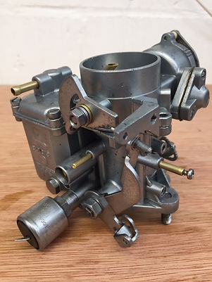 Aircooled VW carb post Vapour Blasting and Ultrasonic cleaning