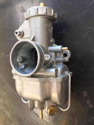 Keihin carb from a little Honda CL125 Vapour blast and Ultrasonic cleaned