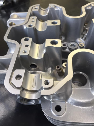 Honda VF1000 Cylinder Head vapour blast cleaned