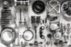 Greasy motorcycle components