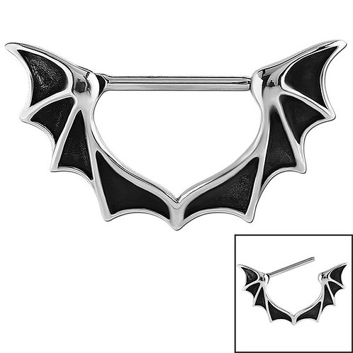 Surgical Steel Bat Wing Nipple clicker
