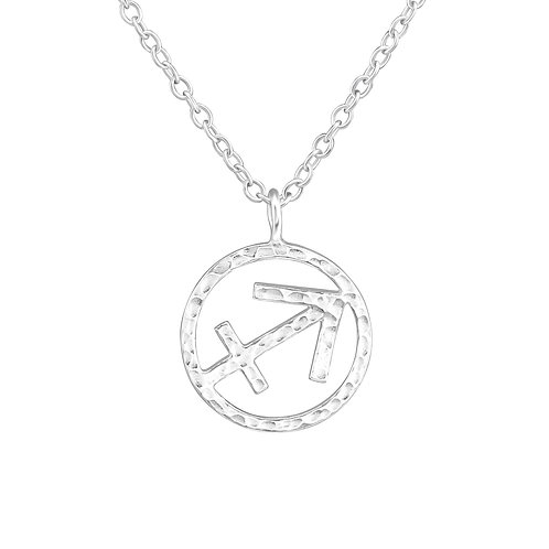 Sterling Silver Sagittarius Necklace