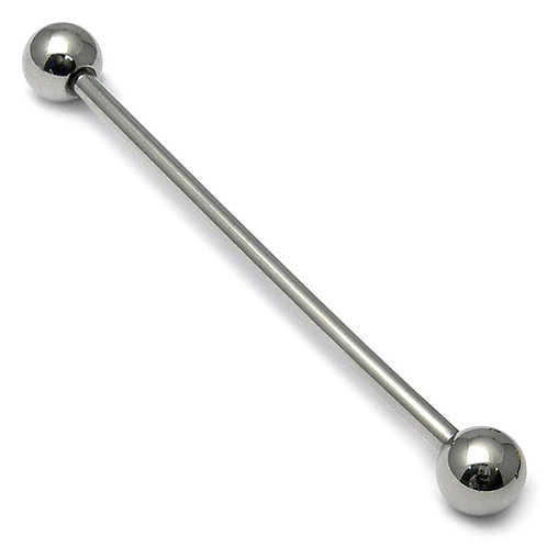 Surgical Steel Industrial Scaffold Barbell