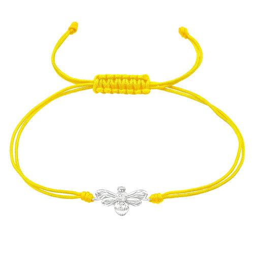 Bee Corded  Bracelet