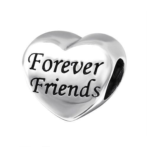 Forever Friends Beaded Charm