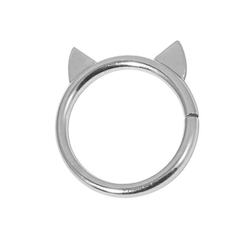 Cat Ears Continuous Twist ring(seamless)