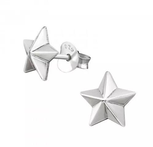 Star 925 Sterling Sliver Ear Stud