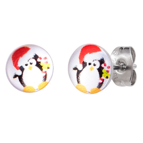 Penguin Surgical Steel Ear Studs