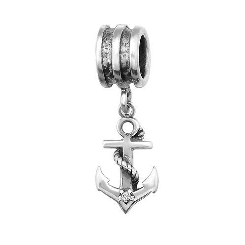 Anchor Beaded Charm
