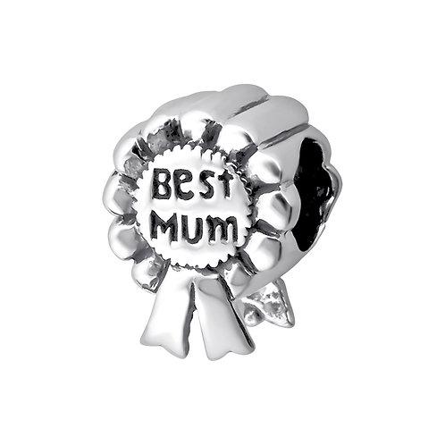 Best Mum Award  Beaded Charm