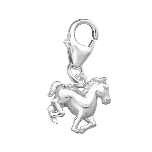 Horse Sterling Silver Lobster Charm