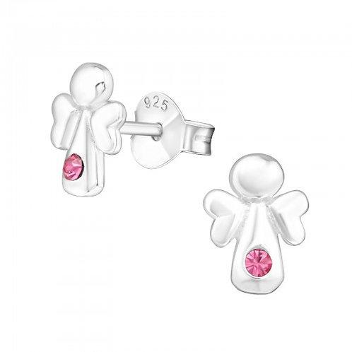 Rose Angel Ears Studs