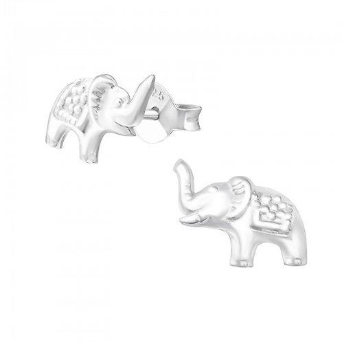 Elephant Sterling Sliver  Ear Studs