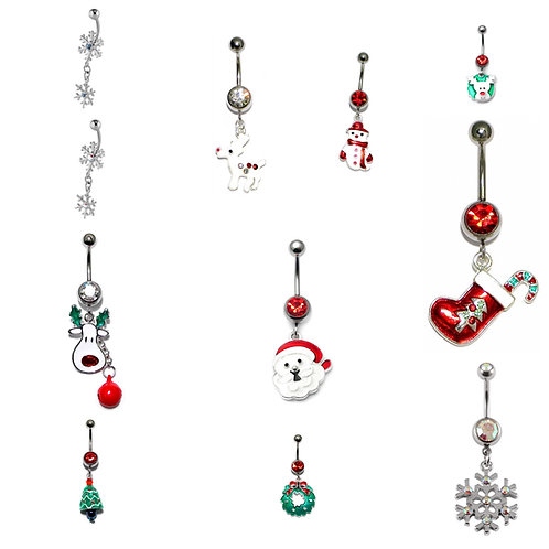 Christmas Charm Belly Bar