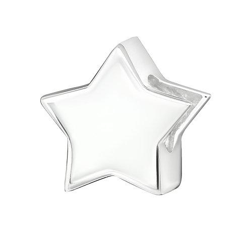 Plain Star Beaded Charm