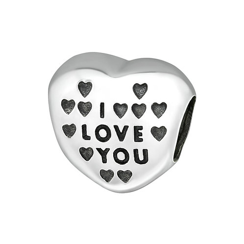 I Love You Bead Charm