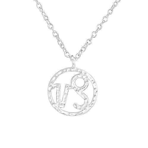 Sterling Silver Capricorn Necklace