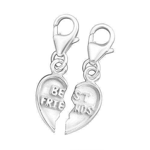Best Friend Sterling Silver Lobster Charm