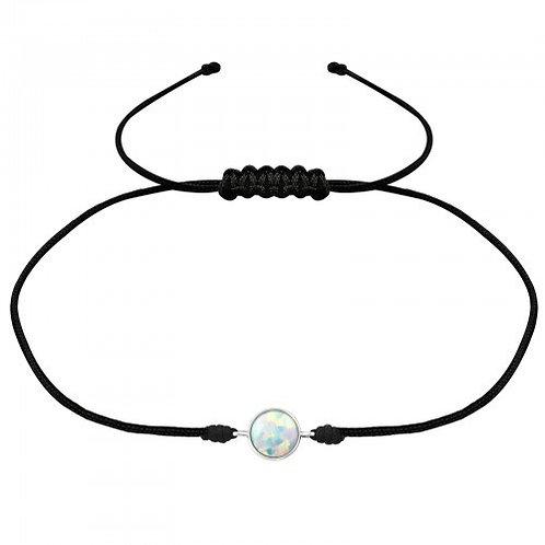 Fire Snow Corded  Bracelet