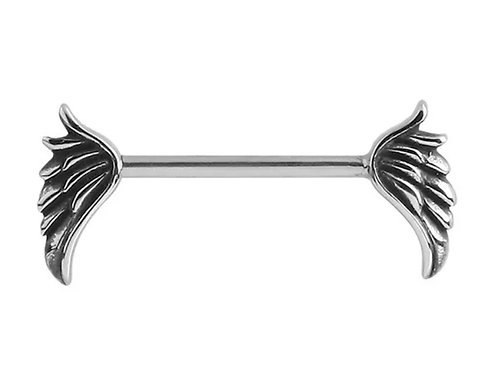 Angel Wing Nipple Bar