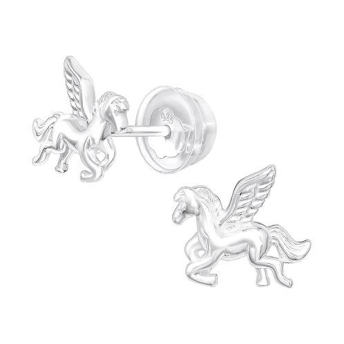 Pegasus Sterling Silver Ears Studs