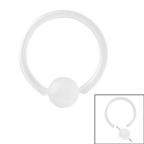 Bio Flex  Ball closure Ring  gauge  1.2